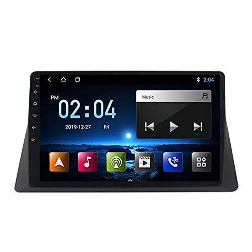 2 DIN Radio De Coche, Autoradio con Bluetooth Manos Libres 9' Pantalla Táctil/Mirroring De La Pantalla/FM Tuner/SD Apoyo DSP Navegación GPS, para Honda Accord 2008-2013,Quad Core,WiFi 1+16