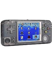 Lantro JS Console de Jeu Portable Longue durée de Veille, Mini-Manette de Jeu Portable Nostalgia, Haut-Parleur intégré avec écran HD de 3 Pouces pour Carte mémoire 32G pour Enfants