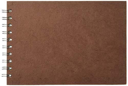 Omslag, A5, Pink Pig chocolade, bruin papier, L/dwars