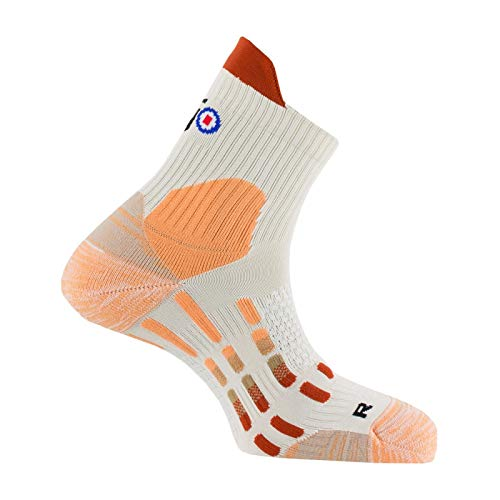 Thyo - Chaussettes Pody Air Marche Nordique MADE IN FRANCE - couleur - Beige saumon - Pointure - 44-46