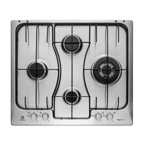 Electrolux RGG 6243 LOX Built-in Gas Stainless steel hob - hobs (Built-in, Gas, Stainless steel, Stainless steel, 1000 W, 2000 W)