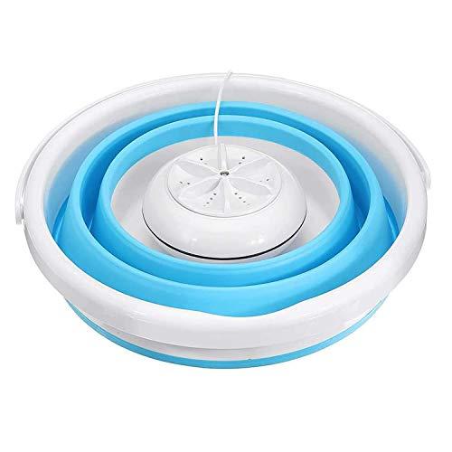 Mini tragbare Waschmaschine, automatische Wäschewaschschaufel, Ultraschall-Turbinenwaschanlage für Wohnheime Wohnmobile