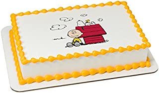 Peanuts This is the Life Licensed Sheet Cake Topper # 20976