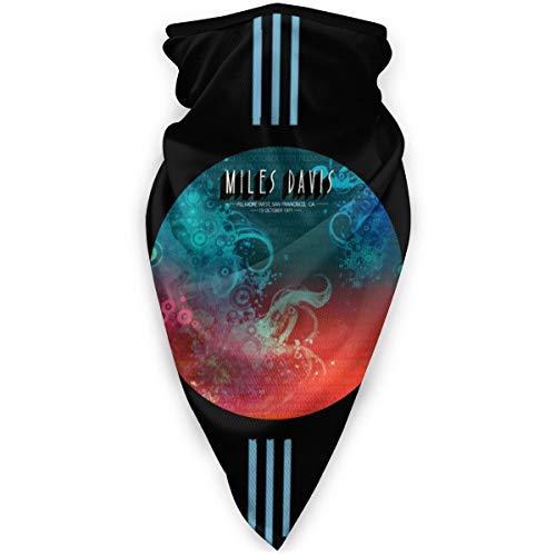Danielleicholson Unisex Seamless Dust Scarf Gamaschen Haarband Miles Davis Sturmhaube Nasenschlauchschal Mütze Stirnband Multifunktionale Kopfbedeckung
