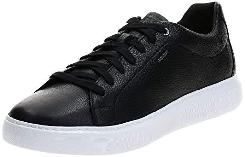 Geox Herren U Deiven B Sneaker, Schwarz, 41 EU
