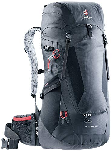 Deuter Futura 26 Mochila, Unisex Adulto, Negro (Black), 62 Centimeters