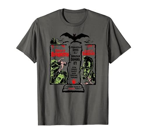 Película de terror Vampiro Drácula Halloween Monster Frankenstein Camiseta