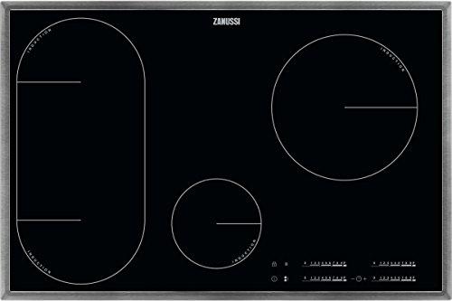 ZANUSSI ZIL 8470 XB/Glaskeramik-Induktionskochfeld/Edelstahlrahmen / 80 cm / 4 Zonen
