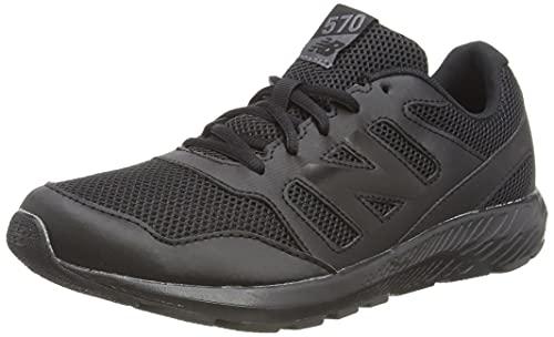 New Balance 570v2, Chaussure de Course sur Route garçon, Black, 34.5 EU