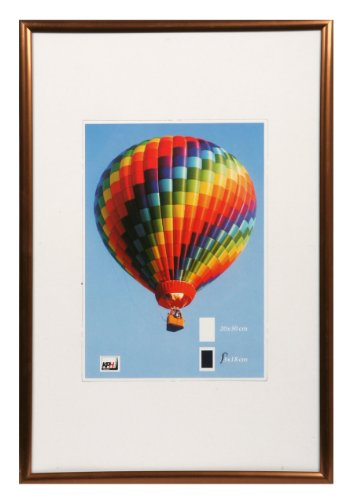 *** New Lifestyle Kunststoff Bilderrahmen ***: Farbe: Bronze | Format: 21x29,7 (DIN A4)