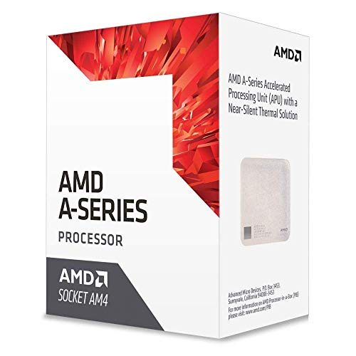 AMD A Series A6-9500 3.5GHz 1MB L2 Caja - Procesador (AMD A6, 3,5 GHz, Socket AM4, PC, 28 NM, A6-9500)