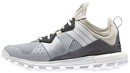 adidas Women's Response TR W Trail Runner, Clear/Brown/White/Matte Silver, 10.5 M US