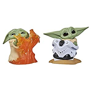 Star Wars The Bounty Collection Series 2 The Child Collectible Toys 2.2-Inch Helmet Hiding Pose, Stopping Fire Pose… - 415L9PYe kL - Star Wars The Bounty Collection Series 2 The Child Collectible Toys 2.2-Inch Helmet Hiding Pose, Stopping Fire Pose…