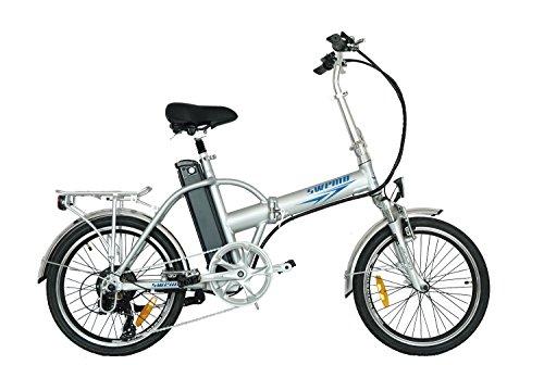 swemo 20 Zoll Alu Klapp E-Bike/Pedelec SW100 (Silber) Bild 2*