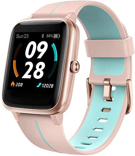Blackview Montre Connectée GPS Femme, Smartwatch Montre Sport Podometre Cardiofrequencemètre...