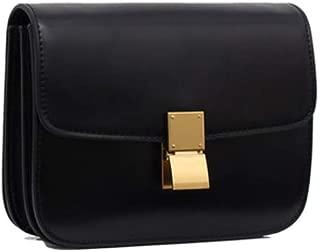 Women's Genuine Leather Messenger Crossbody Handbag