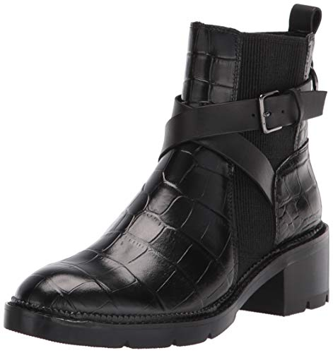 Donald J Pliner Women's Fashion Boot, Black, 7.5