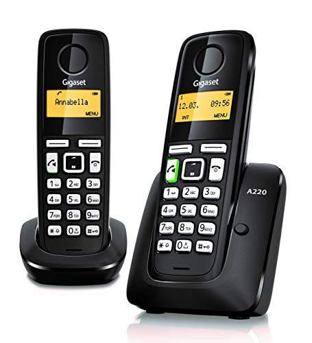 Gigaset A220 Duo- Teléfono Inalámbrico