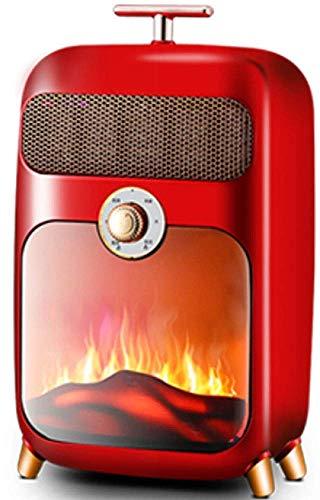YXZQ Olla Cuadrada para Fuego de Mesa con Vidrio de Dos Caras Chimenea de Mesa portátil de 19 cm de Alto - Chimenea sin ventilación de bioetanol de combustión Limpia para Fiestas en el Patio Inte