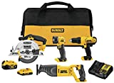 Best Cordless Power Tools - DEWALT 20V MAX Cordless Drill Combo Kit Review