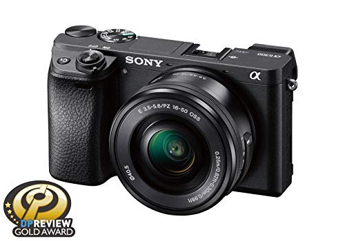 Sony Alpha a6300 Mirrorless Digital Camera with 16-50mm Lens – Black (ILCE6300L/B)