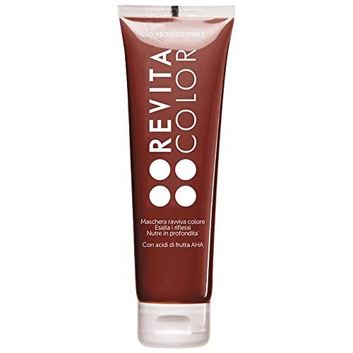 Revitacolor - Maschera Riflessante in Crema per Capelli Colorati e Tinti - Effetto Anticrespo, Idratante e Districante - Con Acidi della Frutta AHA -