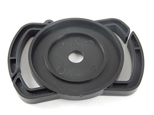 vhbw Objektivdeckel-Halter für Objektivdeckel mit 37mm, 46mm, 58mm Durchmesser Aller Kameramarken z.B. Kodak, Sigma, Tamron