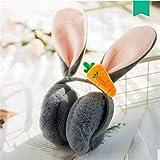 Zhengowen Orejeras Calientes Plegable Invierno Caliente Encantador Dibujos Animados Conejo Orejas de...