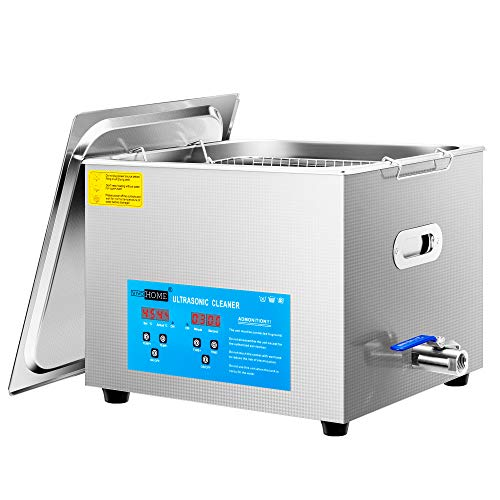 VIVOHOME Professional 15L Touch Controllable Ultrasonic Cleaner Machine with Digital Timer and Heater for Parts Jewelry Watch Coin Glass Circuit Board