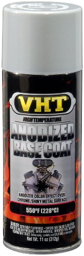 VHT SP453 Anodized Base Silver Color Coat Can - 11 oz.