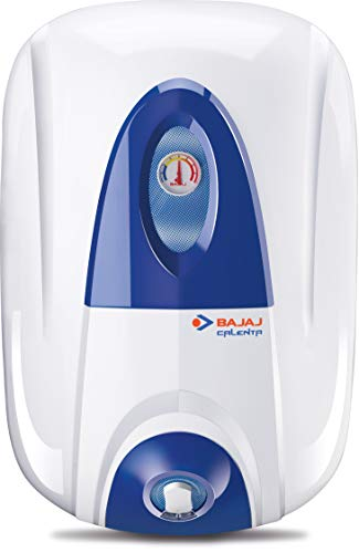 Bajaj Calenta Storage 10 LTR Vertical Water Heater, White, 4 Star