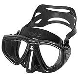 Seac Maske ONE S/BL Tauchmaske, schwarz/schwarz, Size
