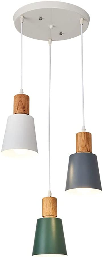 LIWENGZ Choice LED Simple Pendant Three-Color Ch low-pricing Light Adjustable
