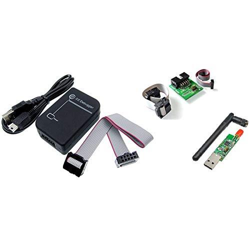 Dasorende CC2531 Zigbee Emulador CC-Depurador Programador USB CC2531 Sniffer con Antena Conector del MóDulo Cable de Descarga