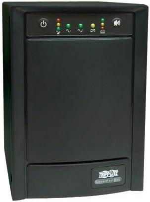 Tripp Lite SMART1050SLT UPS Smart 1050VA - 1000VA 650W Tower AVR 120V Pure Sine Wave USB DB9 SNMP - UPS - AC 120 V - 650 Watt - 1050 VA - output connectors: 8 - black