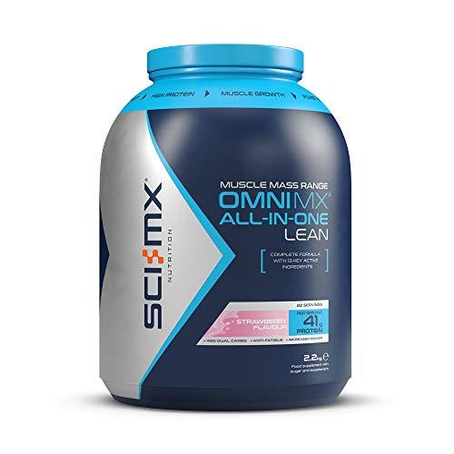 SCI-MX Nutrition OMNI-MX All-in-One Lean, Protein Powder Lean Shake, 2.2 kg, Strawberry, 22 Servings