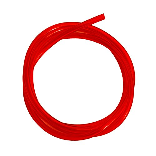 "Made of Polyurethane-Red Outlaw Racing Fuel Gas Fuel Line Hose Tube 3ft /¼/"" Inner Diameter for Chainsaw Motorcycle ATV Snowmobile PWC Jet Ski"