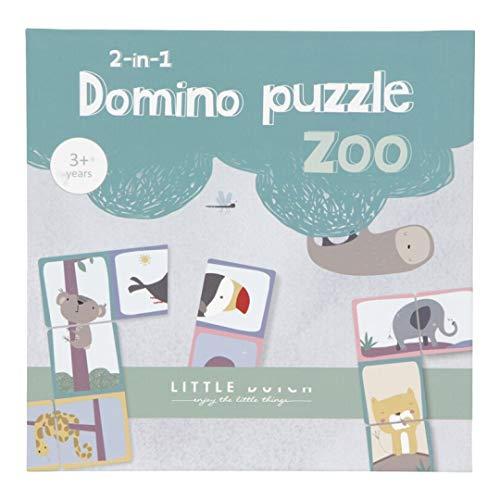 Little Dutch Dominó puzle Zoo