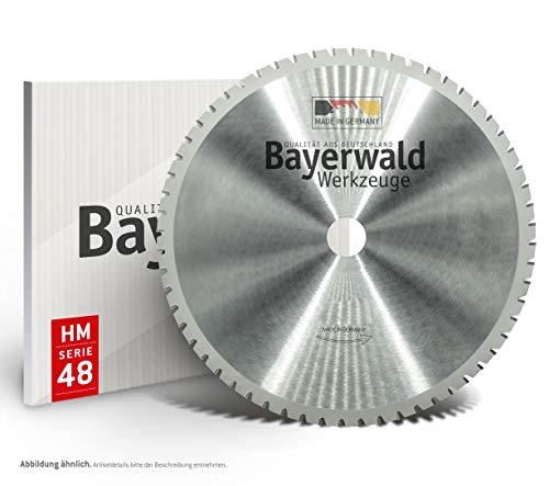 Bayerwald - HM Multisägeblatt - Ø 254 mm x 2,4 mm x 30 mm   Wechselzahn mit Wechselfase (60 Zähne)   universelles Sägeblatt - geeignet für verschiedenste Materialien