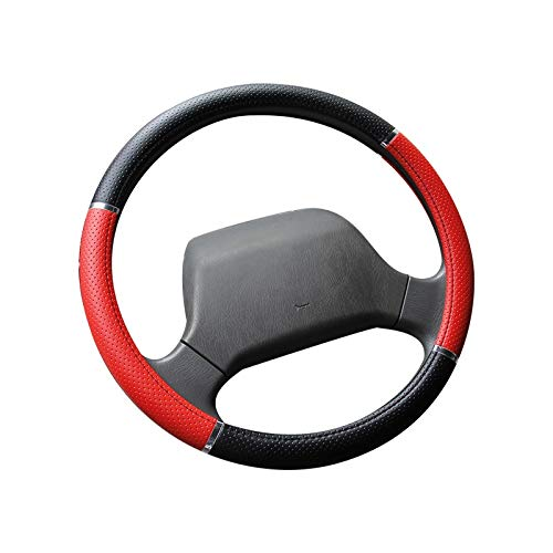 DTOYZ Car Steering Wheel Cover Various Sizes of Truck Small Truck Bus Van Handlebar Cover 36-50CM Pressure Hole Steering Wheel Cover (Color Name : 40CM)