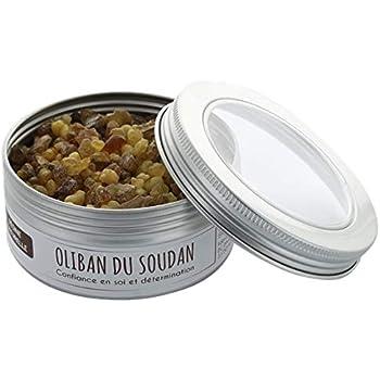 Encens oliban du soudan resine naturelle boite 100 g