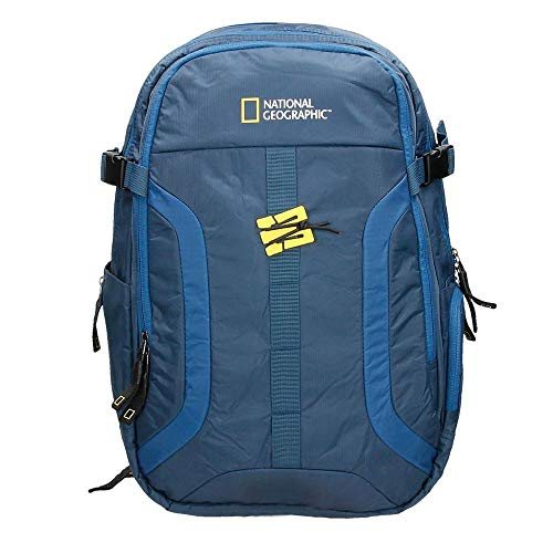 National Geographic Mochila Doble Discover Azul