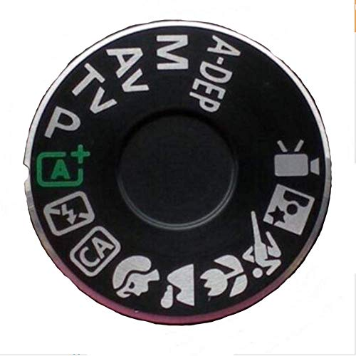 Replacement Camera Top Mode Dial Cover Lid Cap Function Mode Dial Signage Interface Cover Button for Canon EOS 600D Repair Part