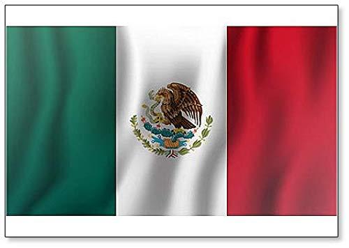 Imán para nevera, diseño de bandera de México