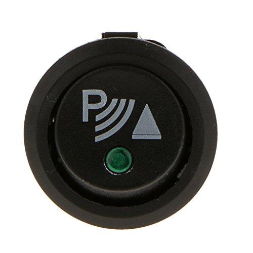 perfk On Off Switch Sensor de Estacionamiento Trasero Delantero Universal para Automobilo