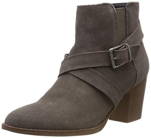 Hush Puppies Shilo Heeled Boot, Bottes Classiques Femme, Gris (Grey 000), 42 EU