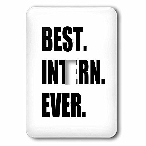 3dRose LSP 185007_ 1mejor Intern nunca–diversión regalo de agradecimiento para INTERNSHIP…