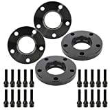 ECCPP 4X 5 Lug Wheel Spacers 20mm 5x120mm to 5x120mm 74.1mm hub fits for 1996-2003 for BMW M5 525i 528i 530i with 12x1.5 Studs