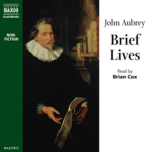 Brief Lives audiobook cover art