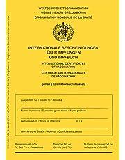 książeczka szczepień/książeczka szczepień – wydanie 2021 – międzynarodowe zaświadczenie na temat szczepień dla niemowląt, dzieci, młodzieży, dorosłych z dodatkową powłoką